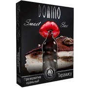 Презервативы для минета Domino Sweet Sex Тирамису - 3 шт.