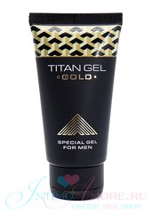 Мужской Titan Gel Gold (вербена, гиалурон, ментол) для джелкинга, 50мл, годен до 05.23г