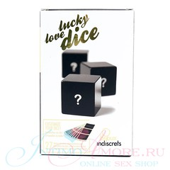 Секс-кубики lucky love dice (27 наклеек), 3шт