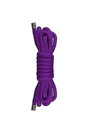 Веревка для японского связывания Japanese Mini Rope, розовая, 1,5м.