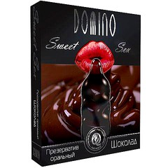 Презервативы для минета Domino Sweet Sex Шоколад - 3 шт.