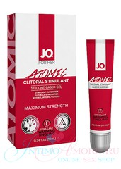 Гель д/клитора JO® Atomic clitoral gel maximum, мята, паприка, 10мл, годен до 05.22г