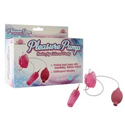 Вибропомпа для клитора Pleasure Pump-Butterfly Clitoral, розовая