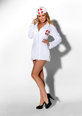 Костюм The Nurse White XXXL(52-54р.)