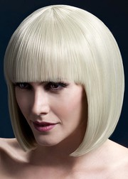 Парик Fever Elise blonde, sleek bob with fringe, блондинка, 33см.