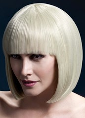 Парик Fever Elise blonde, sleek bob with fringe, блондинка, 33см