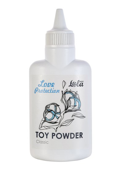 Порошок Toy Powder Classic для ухода за секс-игрушками из киберкожи, 30г, годен до 08.22г