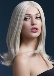 Парик Fever Sophia blonde, long layered with centre parting, блондинка, 43см.